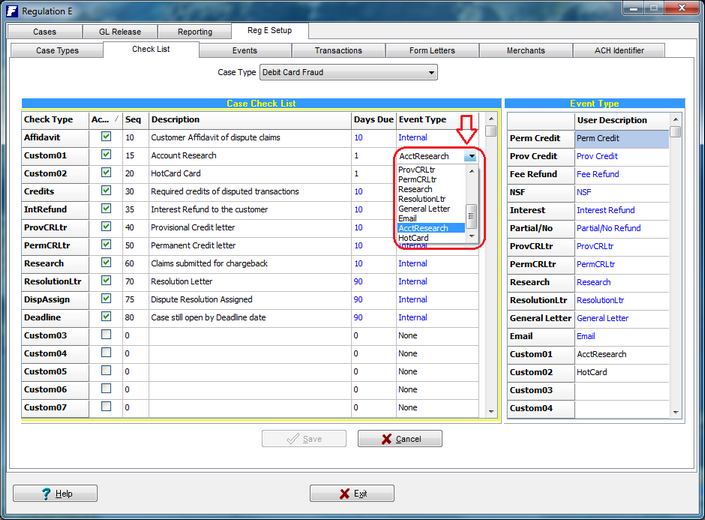 What's new > Back Office > Version 4 03